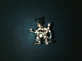 gold plastic tiny figure