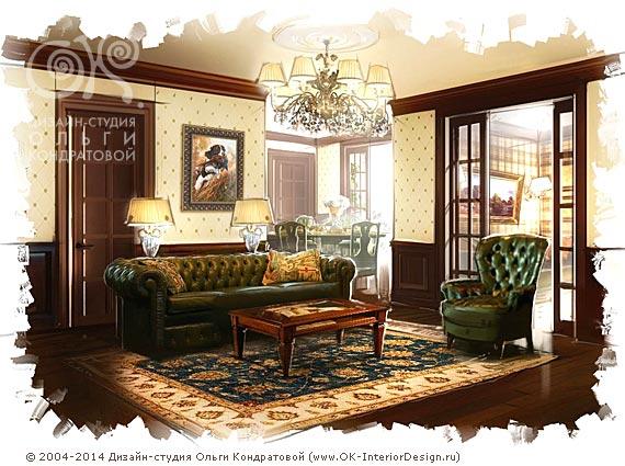 english-style-living-room