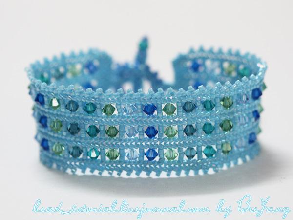 tutorial herringbone bracelet 1 bead tutorial