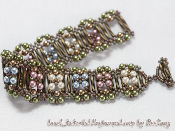 bead weaving bracelet instructions