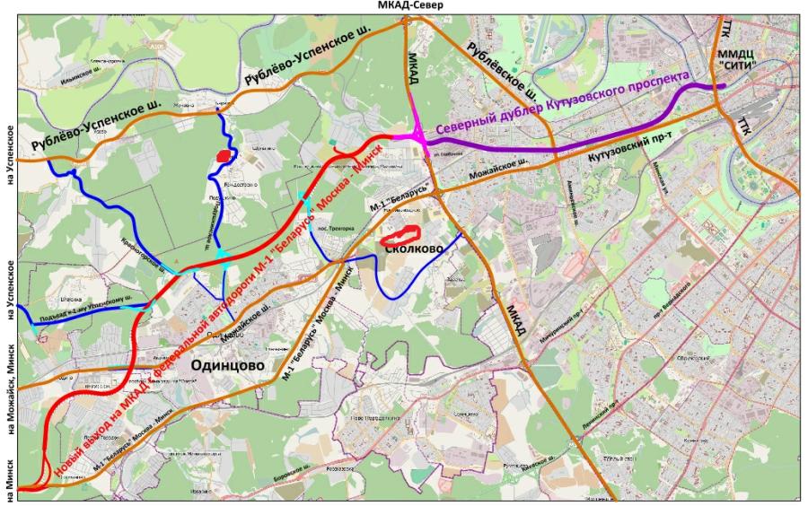 Дублер трассы М1 или северный
