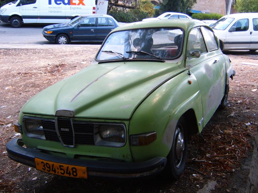 SAAB 96 (69-80) Haifa 2009