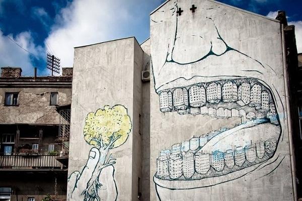 Белград граффити