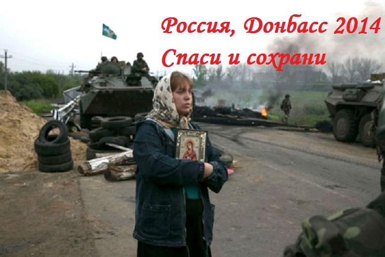 Россия Донбасс 2014