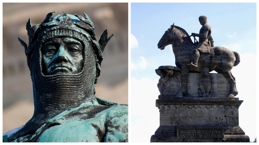 Памятник Отто I в Мюнхене