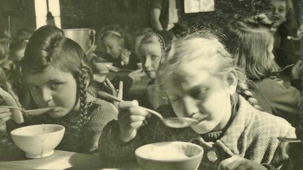 Германия, голод, холод, зима, 1946,1947