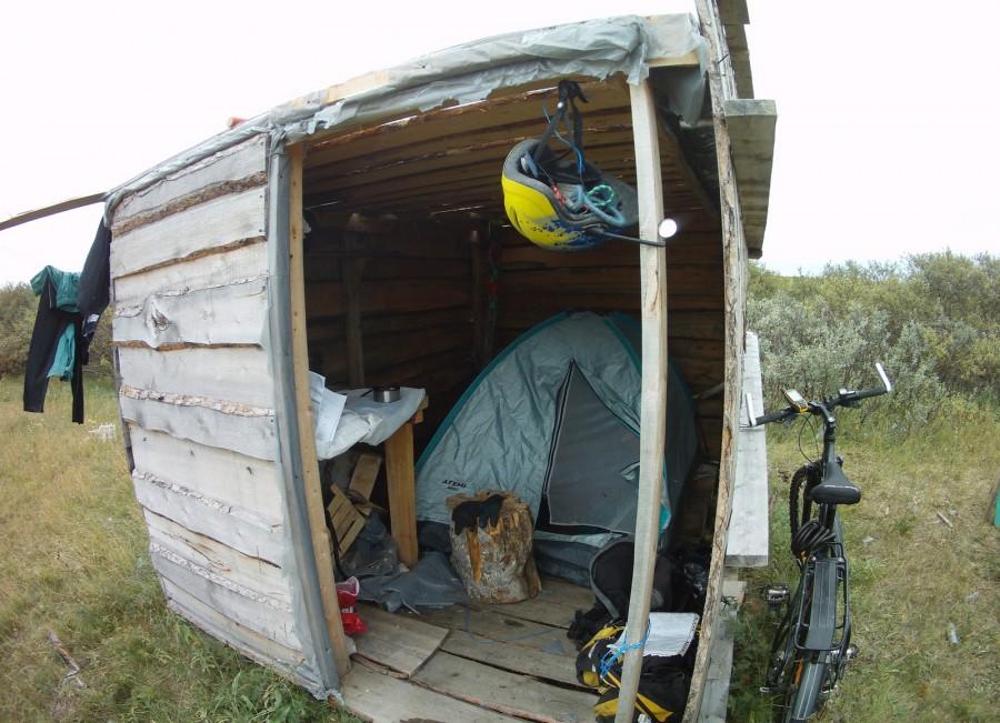 Велостоянка в Пустозерске