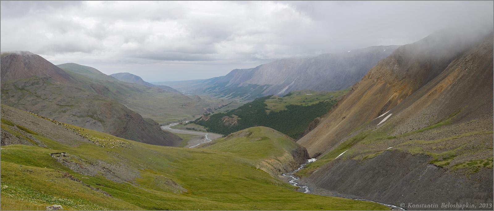 Карагемский перевал 1600