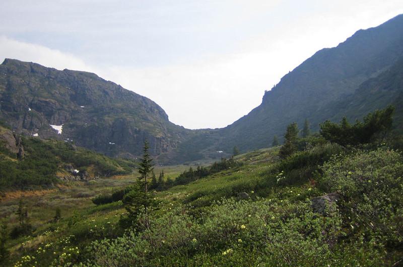 перевал Лангутайские Ворота