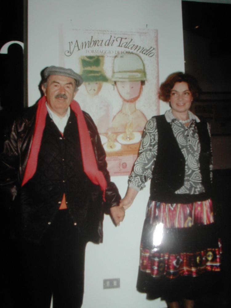 после свадьбы. Тонино и Лора