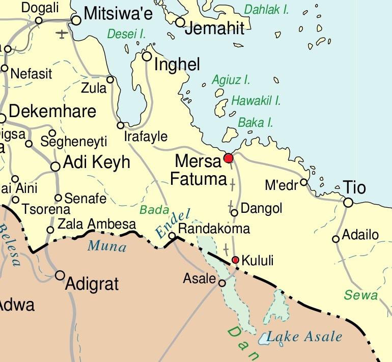 карта Эритреи 02