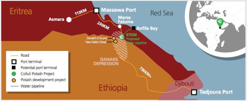 Eritrean Ports Potash Project