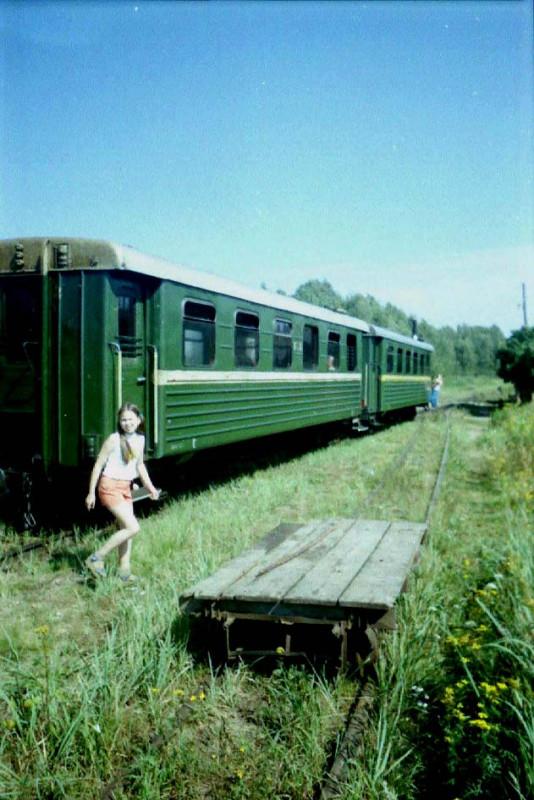 Поезд на раз. Гуреевский, август 2004