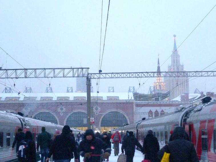 02 - Москва, Казанский вокзал