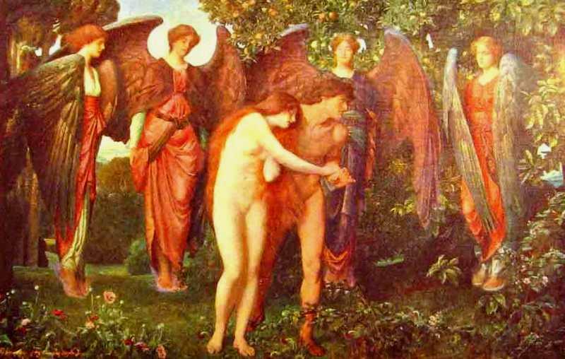 Adam Eve expelled