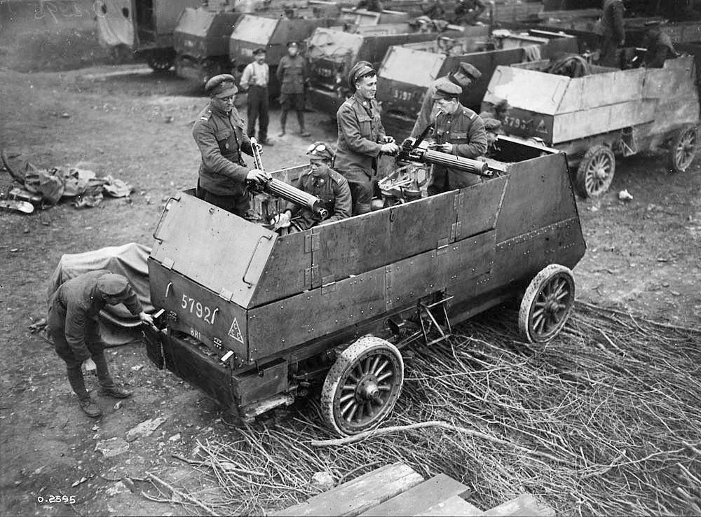 Canadian_Motor_Machine_Gun_Brigade_Armoured_Car_April_1918_LAC_MIKAN_No._3395368