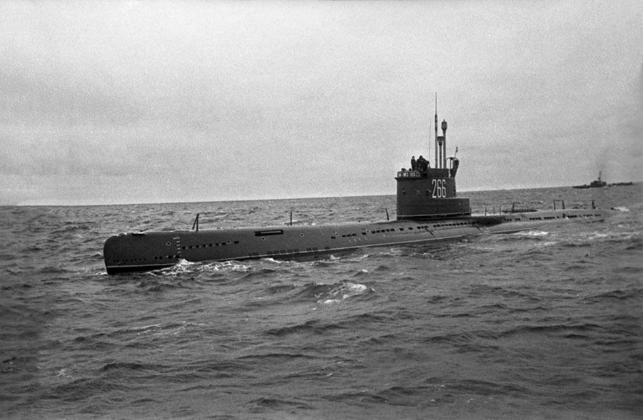 Подводная лодка проекта 613 РИА Новости © Владимир Первенцев