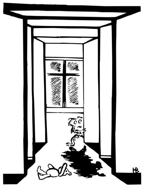 Иллюстрация к рассказу -Домовой- 02 автор Людмила Белаш