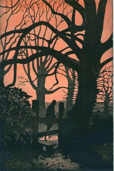 M R James's 'The Tractate Middoth' illustration by Francis Mosley