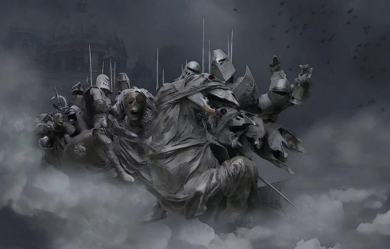 Иллюстрация к миниатюре -Чёрное войско- 01