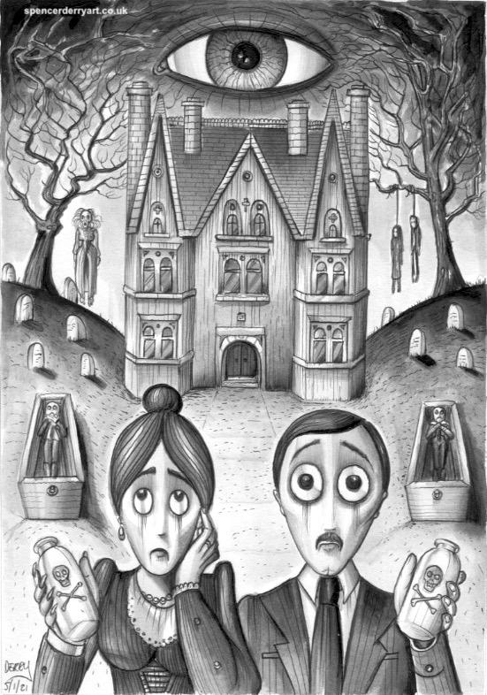 thehaunteddollshouse_spencerjderry_ghostly_gothic_art_drawing