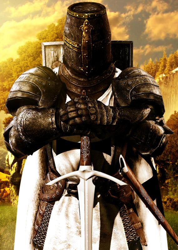 рыцарь 01