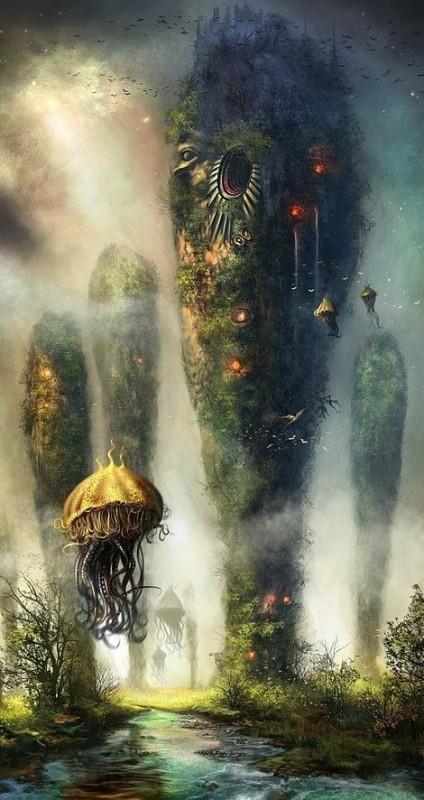 мир медуз 01