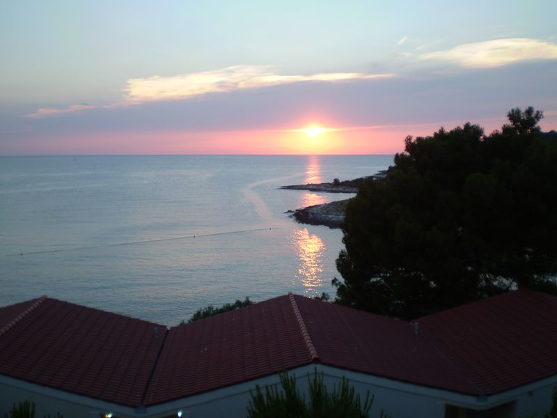 Croatia sunset beach