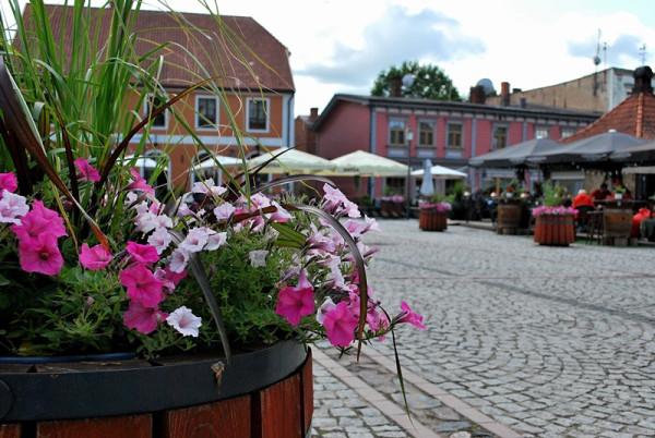 Один летний день в славном латвийском городе Цесис