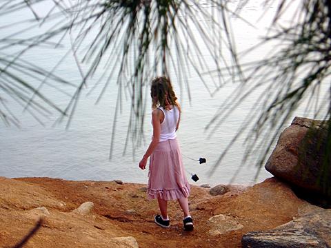 Kat by waters edge