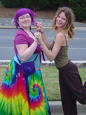 me doing the kickback pose with Kat