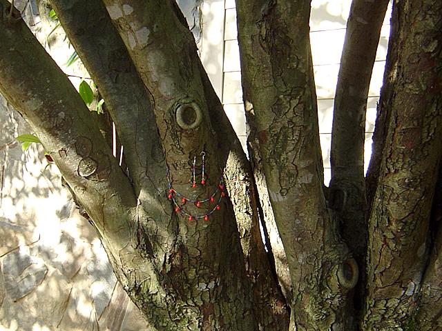 pretty decorated tree!