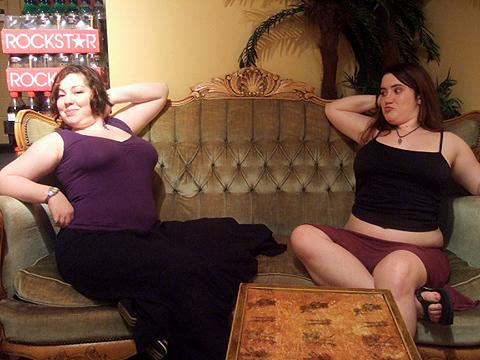 boobie-sticking-out contest