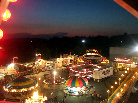 view from the top of the wheel