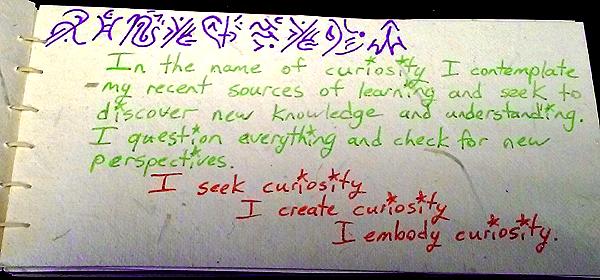 curiosity value card