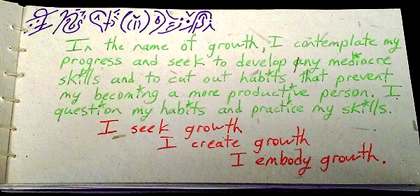 growth value card