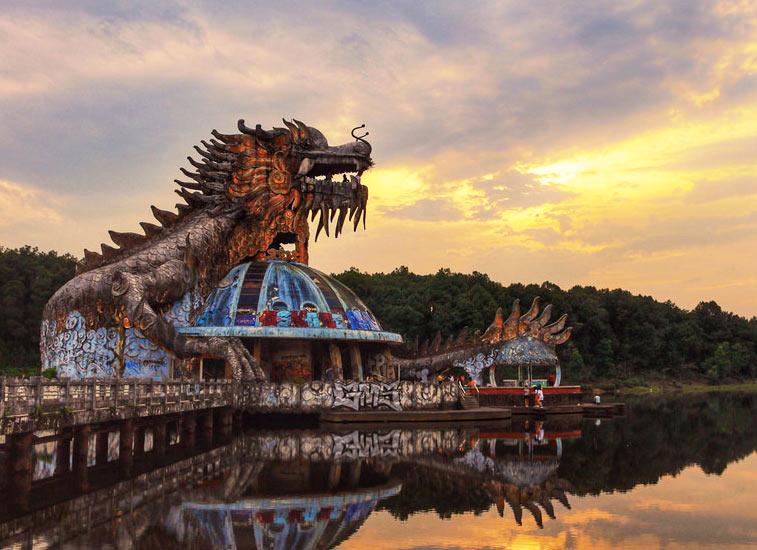 трехэтажный дракон. @phuc doan, flick