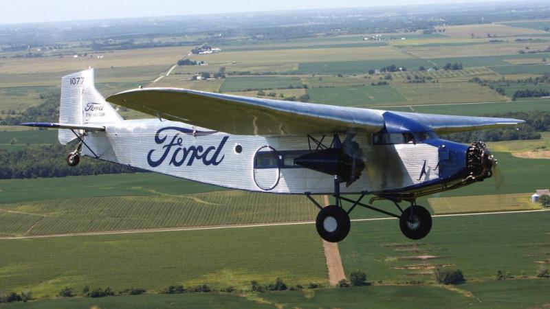 Ford Trimotor. Фото из сети