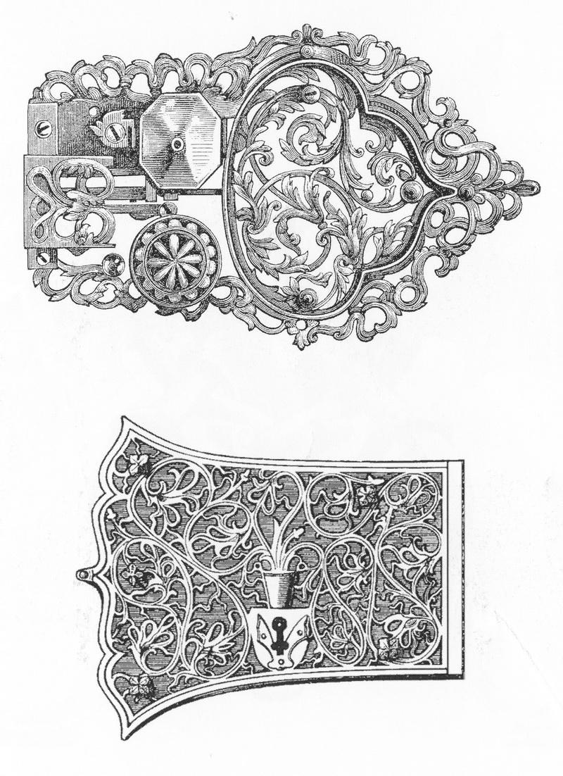 Рисунки замочных скважин