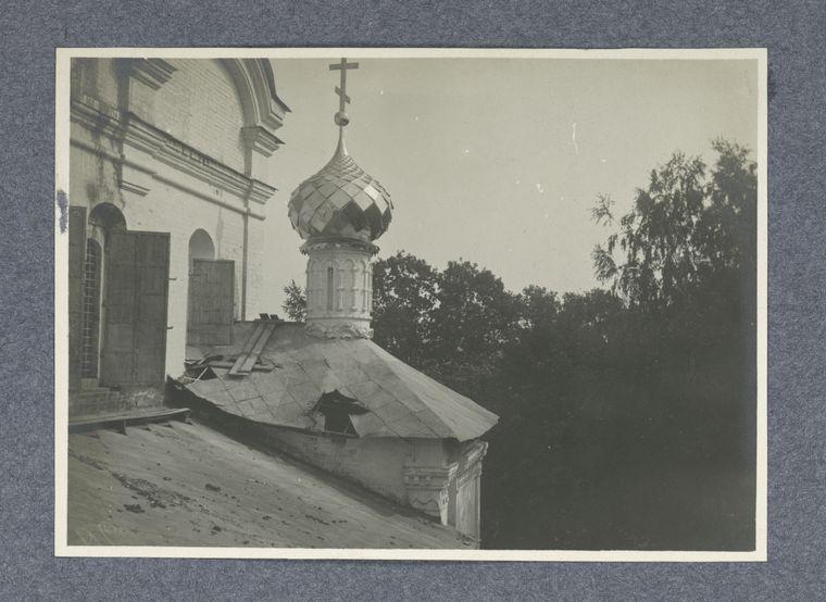 Restavratsiia perekrytiia pridela prepodobnago Mikhaila Maleina