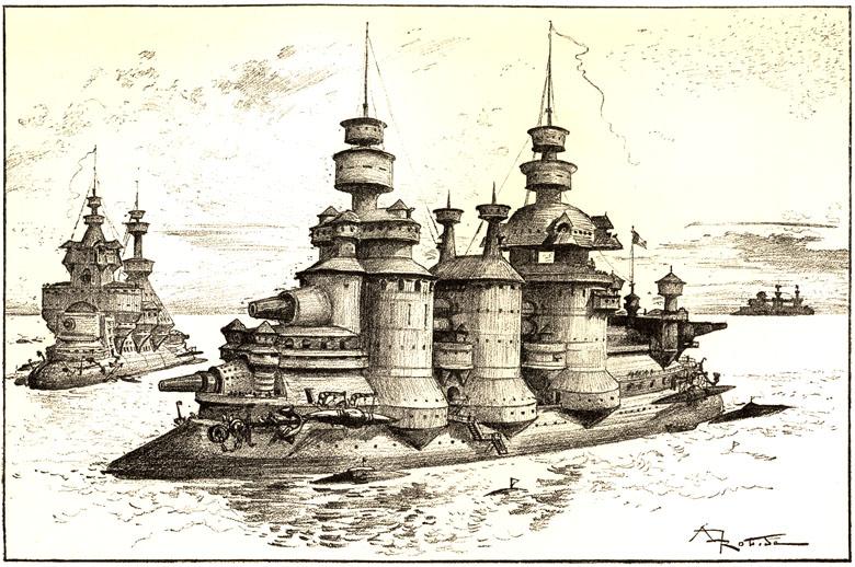 Типы боевых судов XX столетия