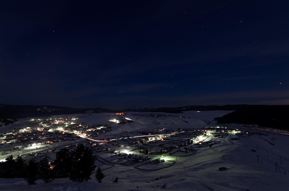 ночь над Кагой