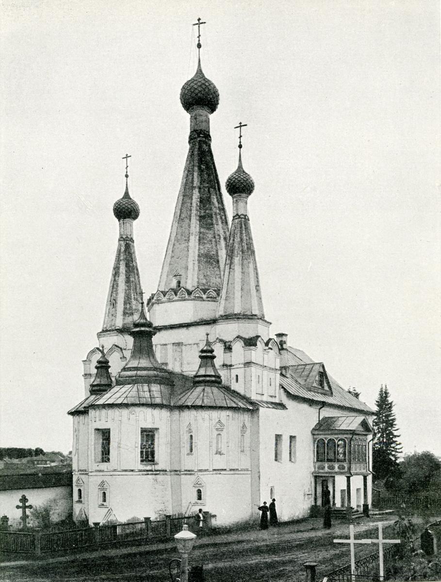 Углич.Дивная церковь Фото Барщевского
