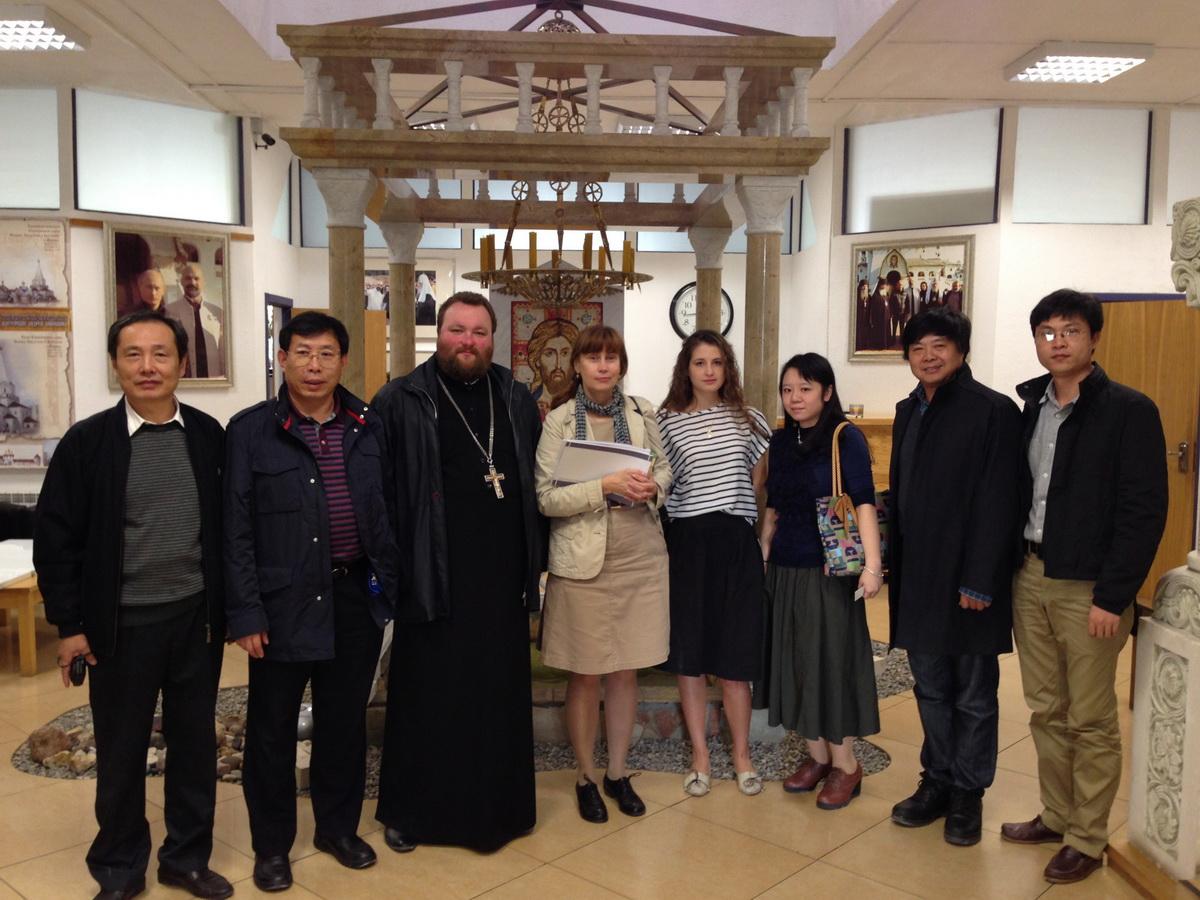 Гости из Китая