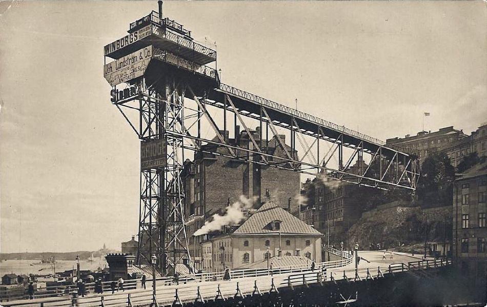 Katarinahissen_tidigt_1900-tal