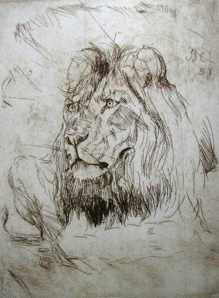 Лежачий лев