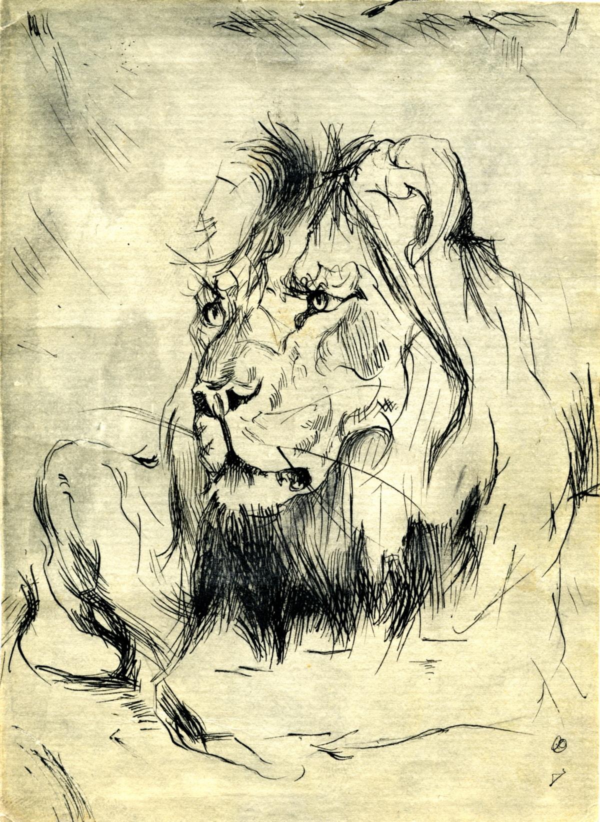 Лежачий лев 4А