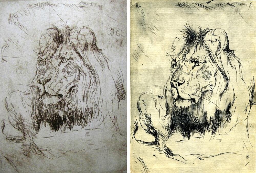 Лежачие львы