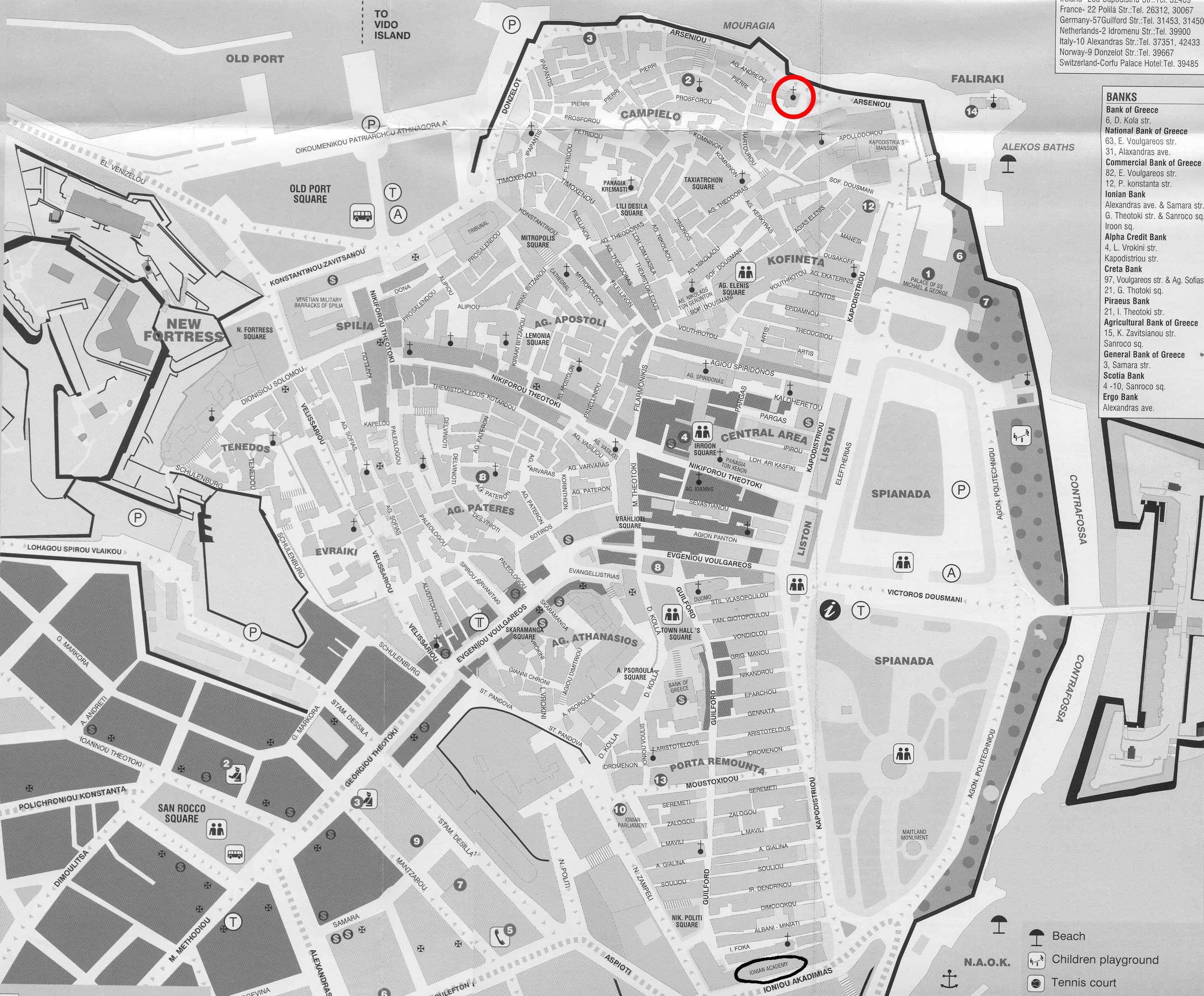 corfu-town-map-bw