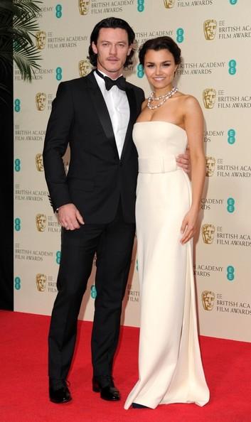 Luke Evans and Samantha Barks1